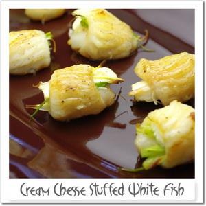 白身魚のクリームロール