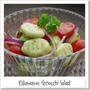 枝豆ニョッキのサラダ