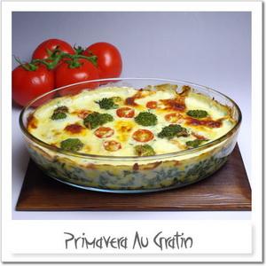 野菜たっぷり、プリマベーラ・グラタン
