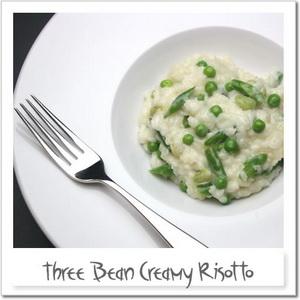 3種のお豆のクリーミーリゾット